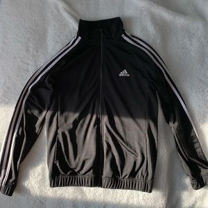 An Adidas black jacket.